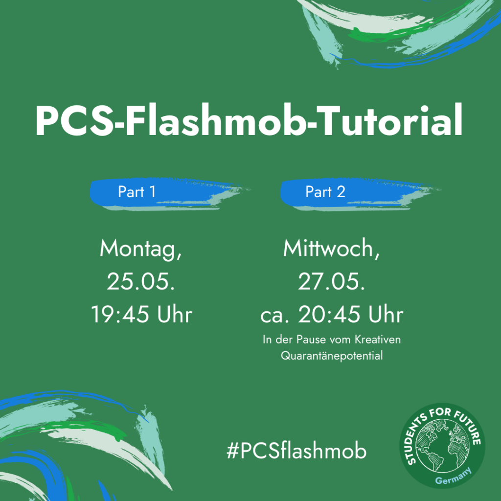 "Sharepic ""PCS-Flashmob-Tutorial"" (Nummer 2)"