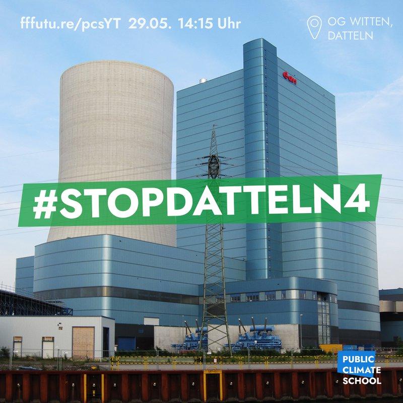 """Sharepic """"#StoppDatteln4"""", 29.05. um 14 Uhr"""
