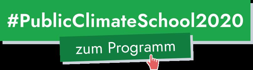 #PublicClimateSchool2020 zum Programm