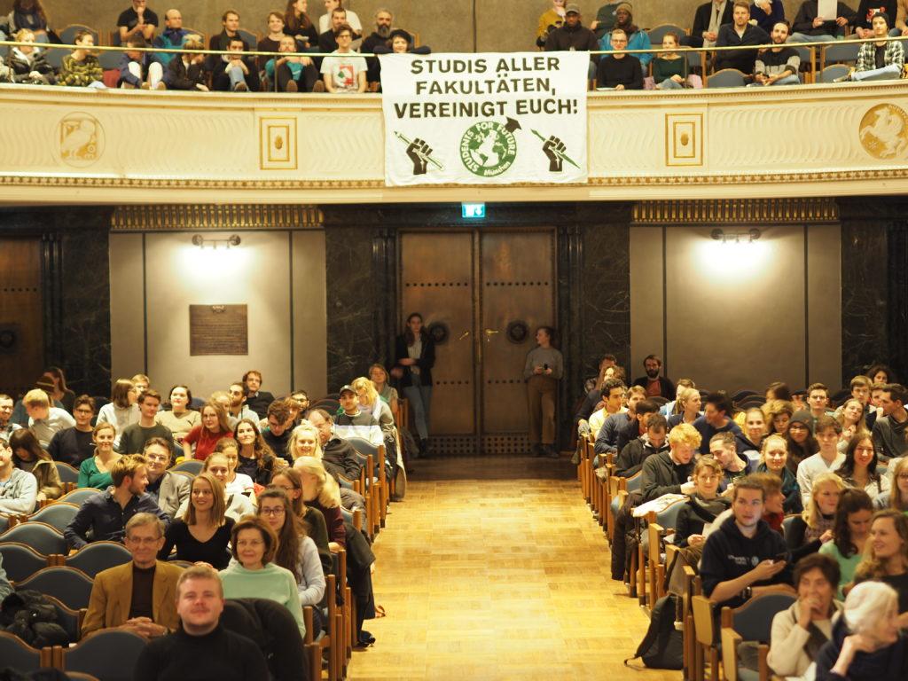 Außerordentliche Studierendenversammlung Munenchen 2019